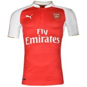 Arsenal 2015-2016 Home Authentic Football Shirt