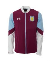 Aston Villa 2016-2017 Stadium Jacket (Royal Magenta)