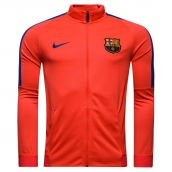 Barcelona 2016-2017 Revolution Stretch Strike Jacket (Crimson)