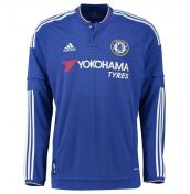 Chelsea 2015-2016 Home Long Sleeve Shirt
