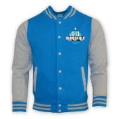 Marseille College Baseball Jacket (sky Blue) - Kids