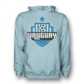 Uruguay Country Logo Hoody (sky Blue) - Kids