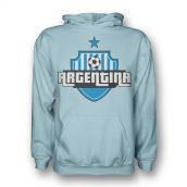 Argentina Country Logo Hoody (sky Blue) - Kids