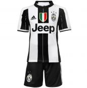 Juventus 2016-2017 Home Mini Kit