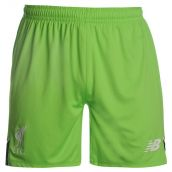 Liverpool 2016-2017 Home Goalkeeper Shorts (Locust Green)