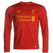 Liverpool 2016-2017 Home Long Sleeve Shirt