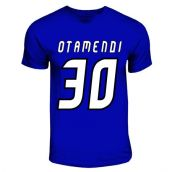 Nicolas Otamendi Porto Hero T-shirt (royal Blue)