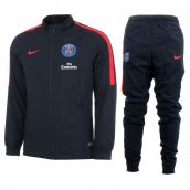 PSG 2016-2017 Knit Tracksuit (Navy) - Kids