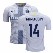 5d7c1dda839 2018-2019 Inter Milan Third Nike Football Shirt (Nainggolan 14)