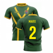 2019-20 South Africa Springboks Flag Concept Rugby Shirt (Marx 2)