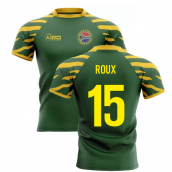 2019-20 South Africa Springboks Home Concept Rugby Shirt (Roux 15)