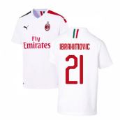 2019-2020 AC Milan Away Shirt (Ibrahimovic 21)