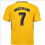2017-18 Atletico Madrid Away Shirt (Griezmann 7) - Kids