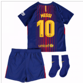 2017-18 Barcelona Home Baby Kit (Messi 10)
