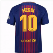 2017-2018 Barcelona Home Shirt (Messi 10) - Kids