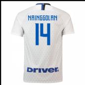 f9e3f1ae491 2018-19 Inter Milan Away Shirt (Nainggolan 14) - Kids