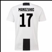 d939daaba36 2018-19 Juventus Home Shirt (Mandzukic 17)