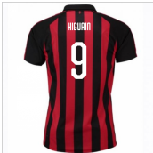 2018-2019 AC Milan Puma Home Football Shirt (Higuain 9)