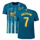 41ea64645c3 2018-2019 Atletico Madrid Third Nike Football Shirt (Griezmann 7)
