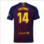 2018-2019 Barcelona Home Nike Football Shirt (Coutinho 14) - Kids