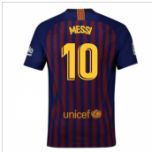 2018-2019 Barcelona Home Nike Football Shirt (Messi 10) - Kids