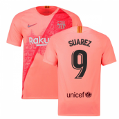 cd4953a29 2018-2019 Barcelona Third Nike Football Shirt (Suarez 9)
