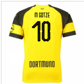 2018-2019 Borussia Dortmund Puma Home Football Shirt (M Gotze 10)