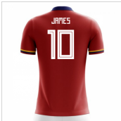 2020-2021 Colombia Away Concept Football Shirt (James 10)