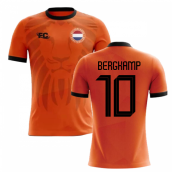 2018-2019 Holland Fans Culture Home Concept Shirt (BERGKAMP 10) - Kids (Long Sleeve)
