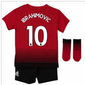 2018-2019 Man Utd Adidas Home Baby Kit (Ibrahimovic 10)