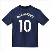 2018-2019 Man Utd Adidas Third Football Shirt (Kids) (Ibrahimovic 10)