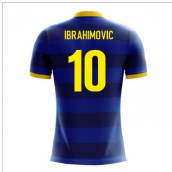 2018-2019 Sweden Airo Concept Away Shirt (Ibrahimovic 10)