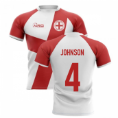 2019-20 England Flag Concept Rugby Shirt (Johnson 4)