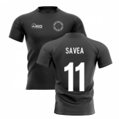 2019-20 New Zealand Home Concept Rugby Shirt (Savea 11)