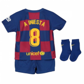 2019-2020 Barcelona Home Nike Baby Kit (A INIESTA 8)