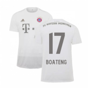 2019-2020 Bayern Munich Adidas Away Shirt (Kids) (BOATENG 17)