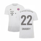 2019-2020 Bayern Munich Adidas Away Shirt (Kids) (GNABRY 22)