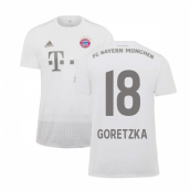2019-2020 Bayern Munich Adidas Away Shirt (Kids) (GORETZKA 18)