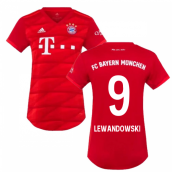 2019-2020 Bayern Munich Adidas Home Womens Shirt (LEWANDOWSKI 9)