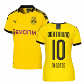 2019-2020 Borussia Dortmund Home Ladies Puma Shirt (M GOTZE 10)