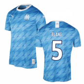 2019-2020 Marseille Away Shirt (Kids) (Blanc 5)