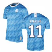 2019-2020 Marseille Away Shirt (Kids) (MITROGLOU 11)