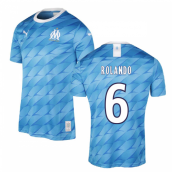 2019-2020 Marseille Away Shirt (Kids) (ROLANDO 6)