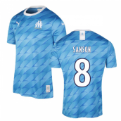 2019-2020 Marseille Away Shirt (Kids) (SANSON 8)