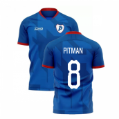 2019-2020 Portsmouth Home Concept Football Shirt (Pitman 8)