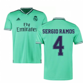 2019-2020 Real Madrid Adidas Third Football Shirt (SERGIO RAMOS 4)