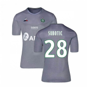 2019-2020 St Etienne Third Football Shirt (SUBOTIC 28)