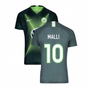 2019-2020 VFL Wolfsburg Home Nike Football Shirt (MALLI 10)