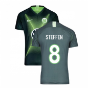2019-2020 VFL Wolfsburg Home Nike Football Shirt (STEFFEN 8)
