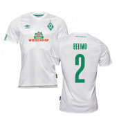 2019-2020 Werder Bremen Away Football Shirt (BEIJMO 2)